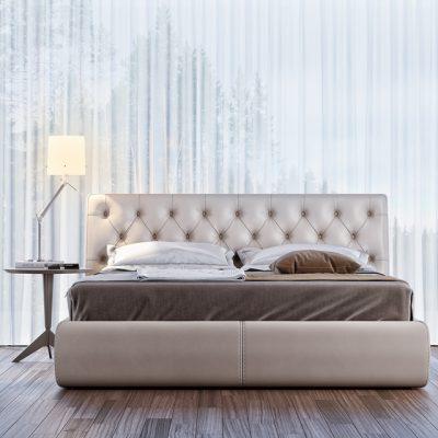 Berto Tribeca Bed 3D Model