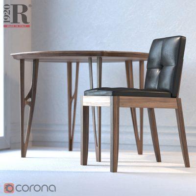 Bever Sedia Chair 3D Model