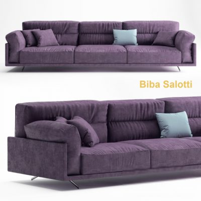 Biba Salotti Sofa 3D Model