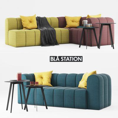 Bla Station Bob Sofa 3D Model