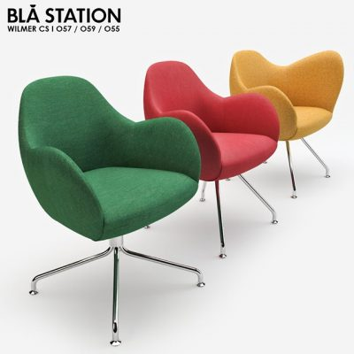 Bla Station Chair 3D model