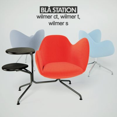 Bla Station Wilmer-CT, Wilmer T & Wilmer S Armchairs 3D Model