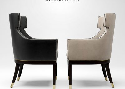 Blainey North Hercule Dining Chair 3D Model 3