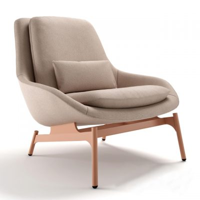Blu Dot Field Lounge Chair 3D model