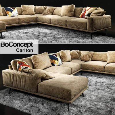 BoConcept Carlton Sofa 2 3D model