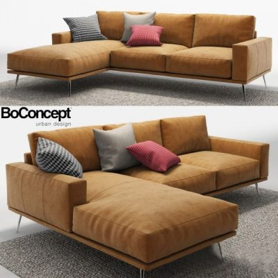 BoConcept Carlton Sofa Set 3D Model