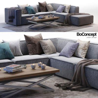BoConcept Carmo 04 Sofa 3D Model