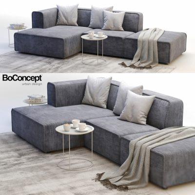 BoConcept Carmo-3 Sofa 3D Model
