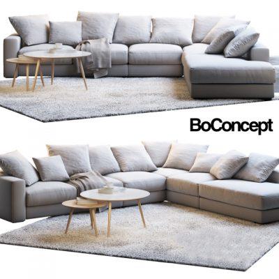 BoConcept Cenova Set-04 3D Model