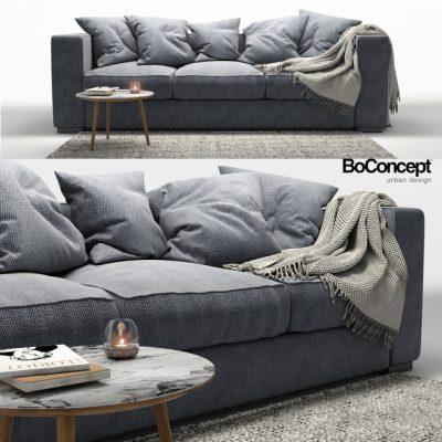 BoConcept Cenova Sofa Set-02 3D Model