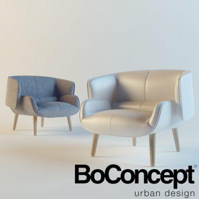 BoConcept Fusion Armchair 3D Model