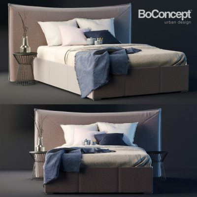BoConcept Gent Bed 3D Model