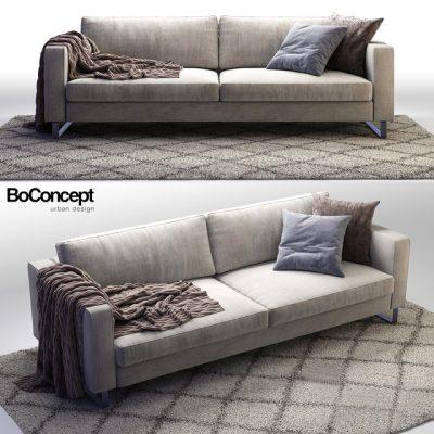 BoConcept Indivi-2 Sofa 3D Model