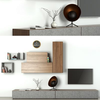 BoConcept Lugano Tv-Stand 3D Model