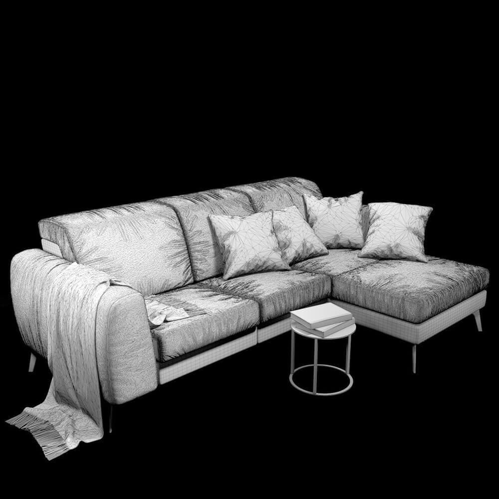 Sensational Sofa Boconcept Madison 3D Model Cjindustries Chair Design For Home Cjindustriesco
