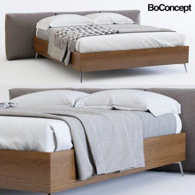 Boconcept Lugano Bed 3D Model