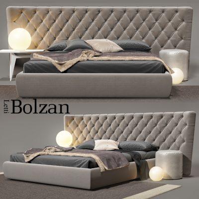 Bolzan Selene Large Bed 3D Model