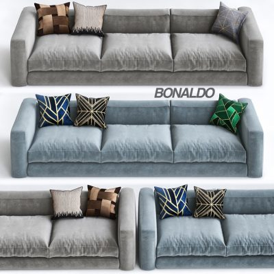 Bonaldo Sofa Set-02 3D Model