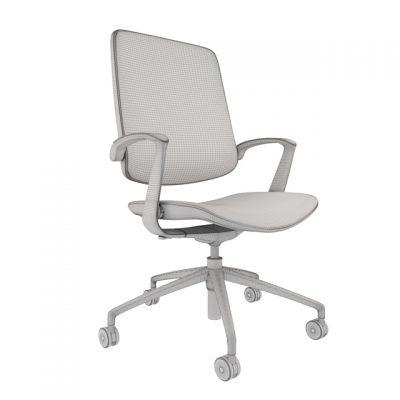 Boss Design Trinetic Chair 3D Model 2