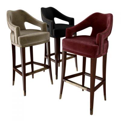 Brabbu № 20 Bar Chair 3D Model