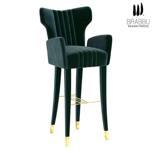 Brabbu Davis Bar Chair 3D Model