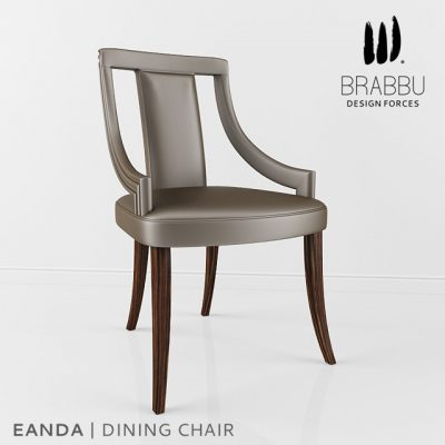 Brabbu Eanda Dining Chair 3D Model