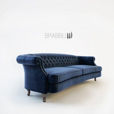 Brabbu Sawa Maree Sofa 3D Model 2