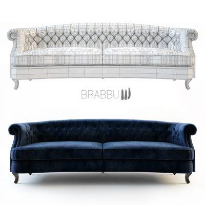 Brabbu Sawa Maree Sofa 3D Model