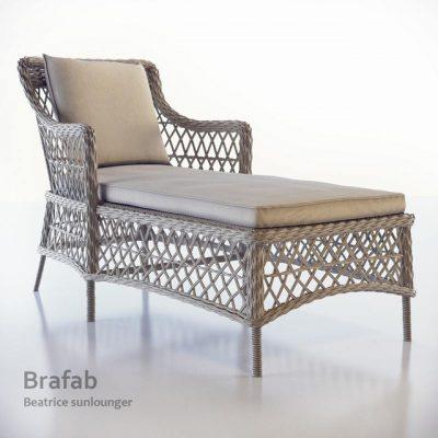 Brafab Beatrice Sunlounger 3D Model