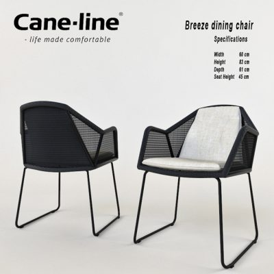 Breeze Dining Chair 3D Model