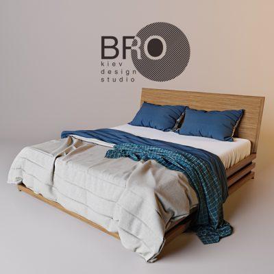 Bro Bed 3D Model