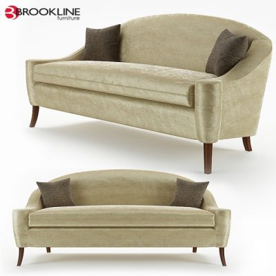Brookline Furnuiture Queen Sofa 3D Model