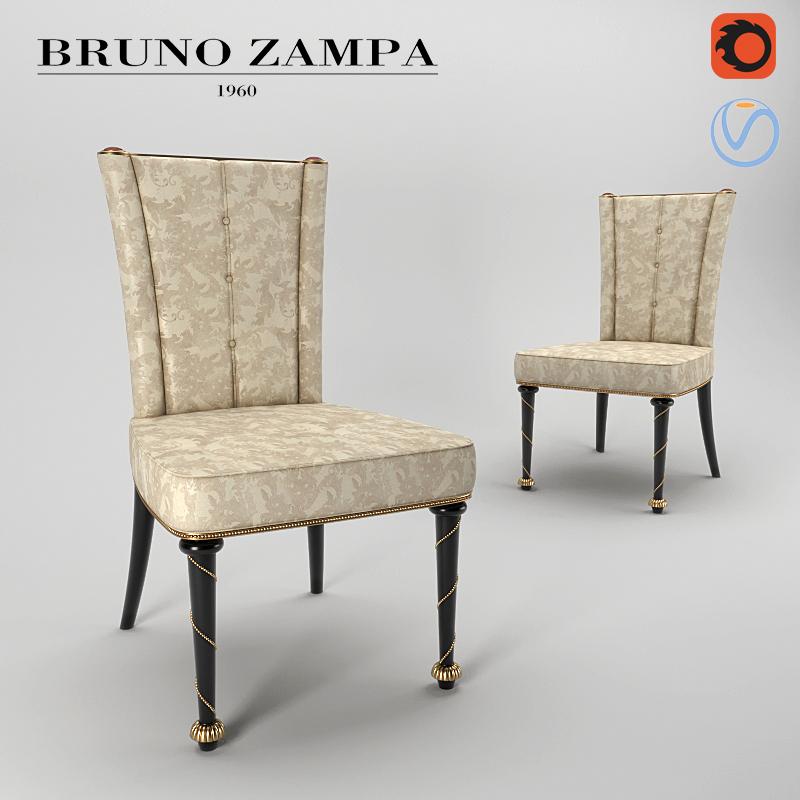 Bruno Zampa Anthilia Chair 3D Model