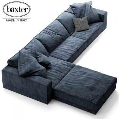Budapest Soft Sofa 3D Model 2