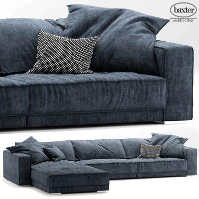Budapest Soft Sofa 3D Model