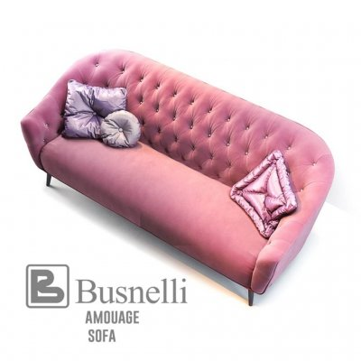 Busnelli Amouage Sofa classic 3D model (1)