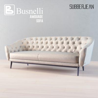 Busnelli Amouage Subberjean Sofa 3D Model 2
