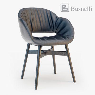 Busnelli Charme Chair 3D Model