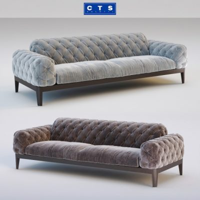 CTS Salotti Elliot Sofa 3D Model