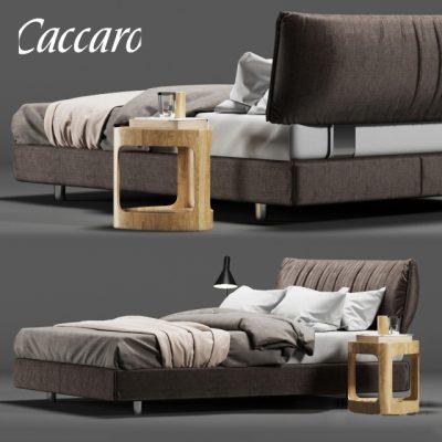 Caccaro Parentesi Bed 3D Model