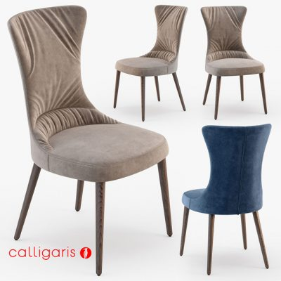 Calligaris Rosemary Chair 3D Model