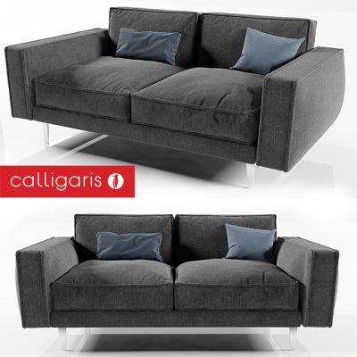 Calligaris Square Sofa 3D Model