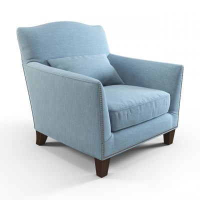 Canterbury Armchair 3D Model