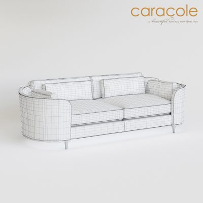 Caracole Cuddle Up Sofa 3D Model