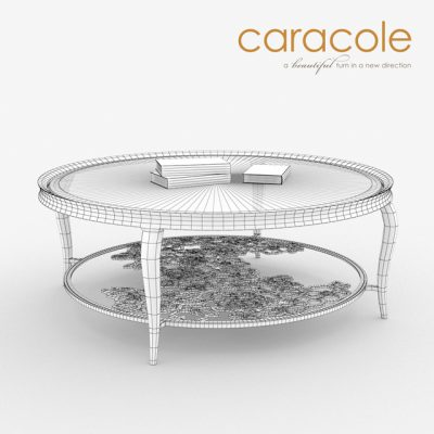 Caracole Handpicked Table 3D Model
