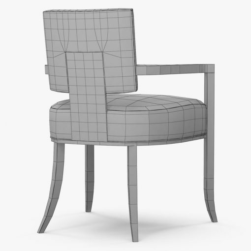 Caracole Reserved Seating Chair 3D Model (1)
