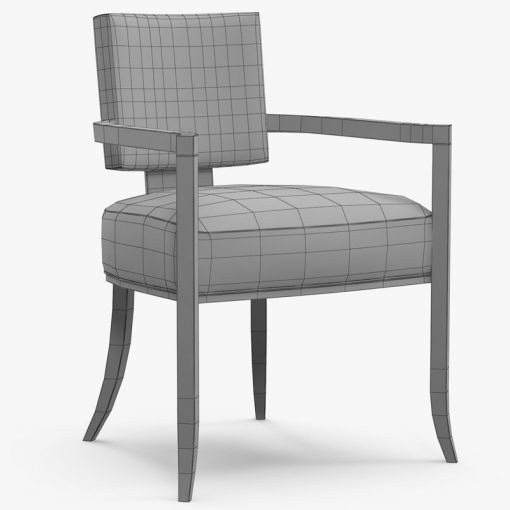 Caracole Reserved Seating Chair 3D Model (7)