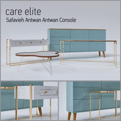 Care Elite – Safavieh Antwan Console 3D Model