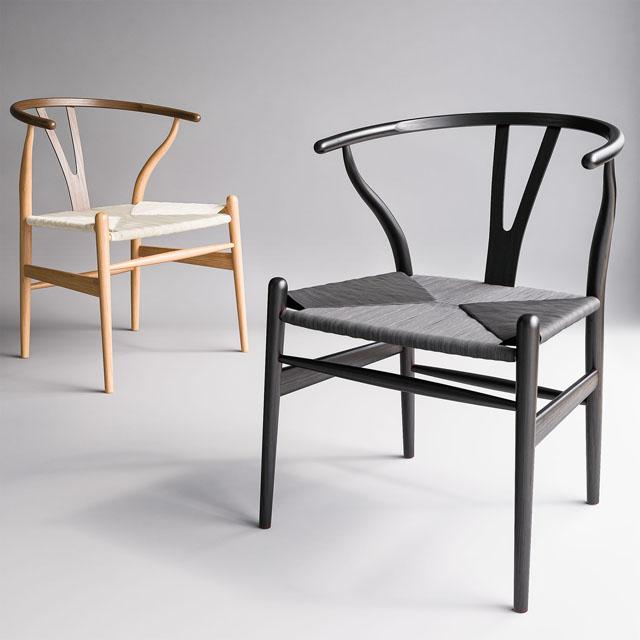 Carl Hansen & Son Wishbone Chair 3D Model