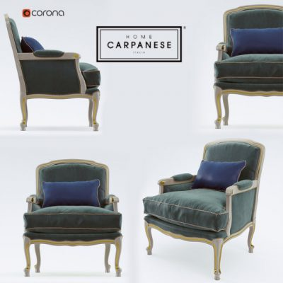 Carpanese 6537 Armchair 3D Model
